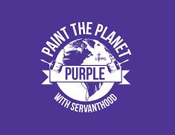purple planet logo